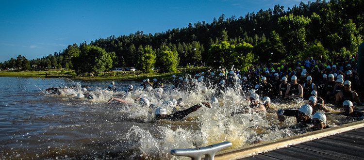 Mountain Man Sprint - The Swim